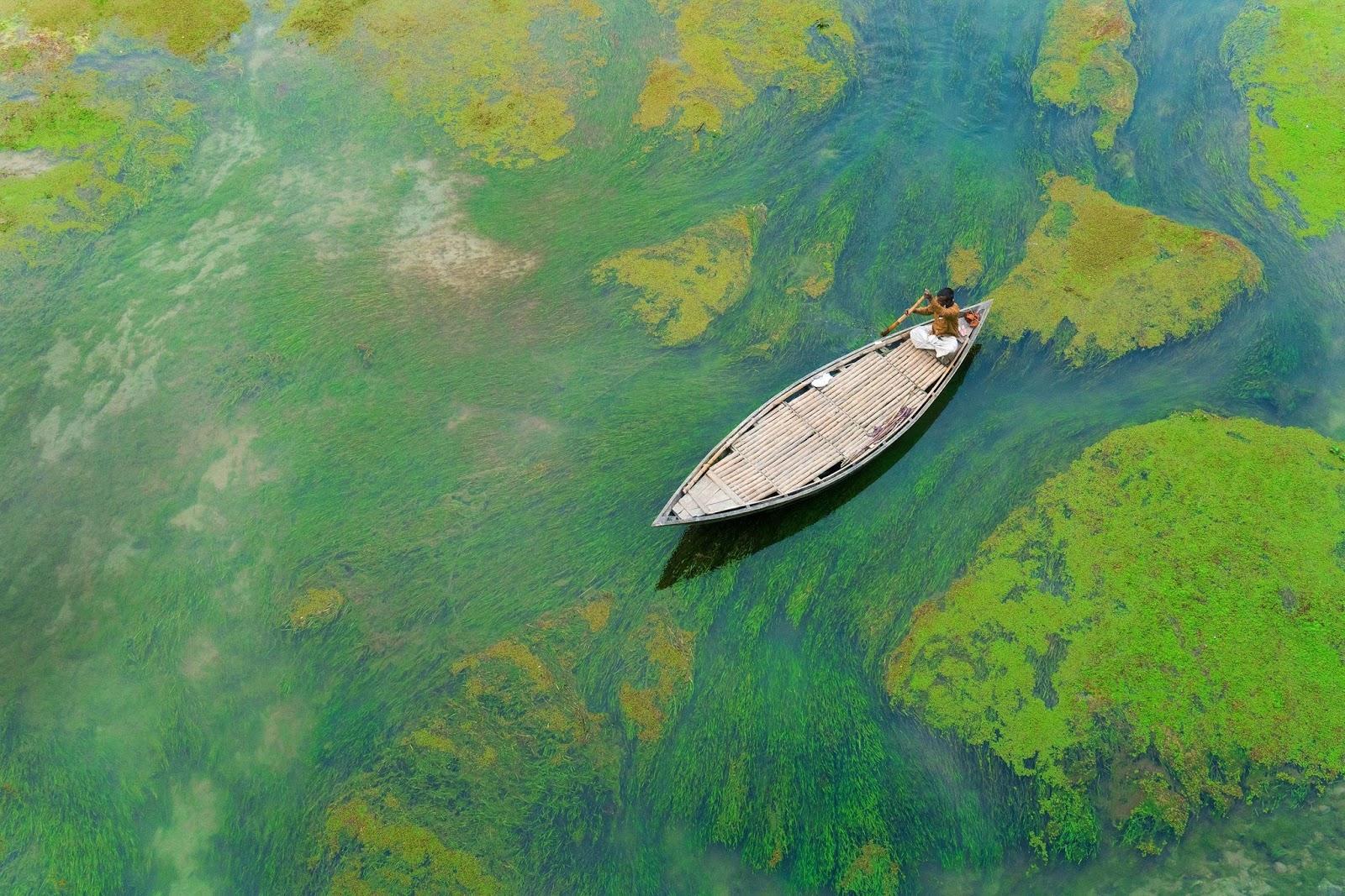 Baral River,Bangladesh HD Background