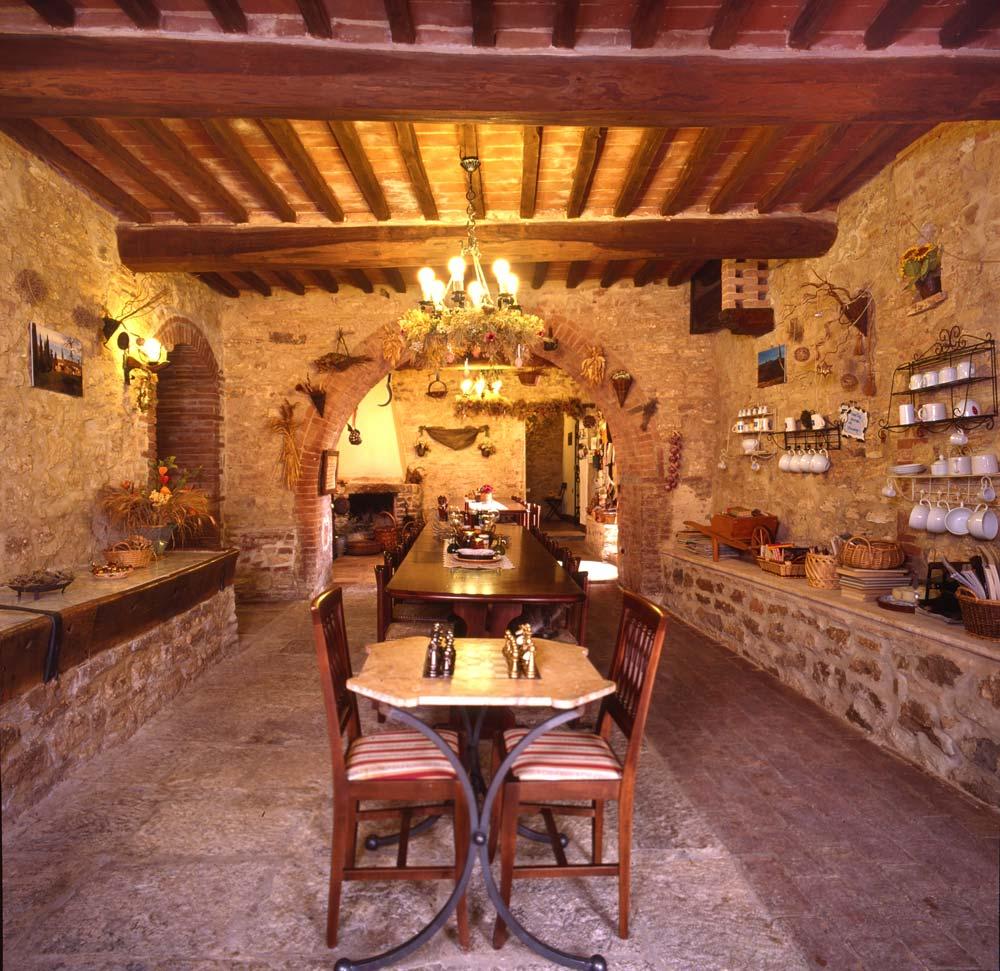 Agriturismo Aia Vecchia di Montalceto Toscana Siena