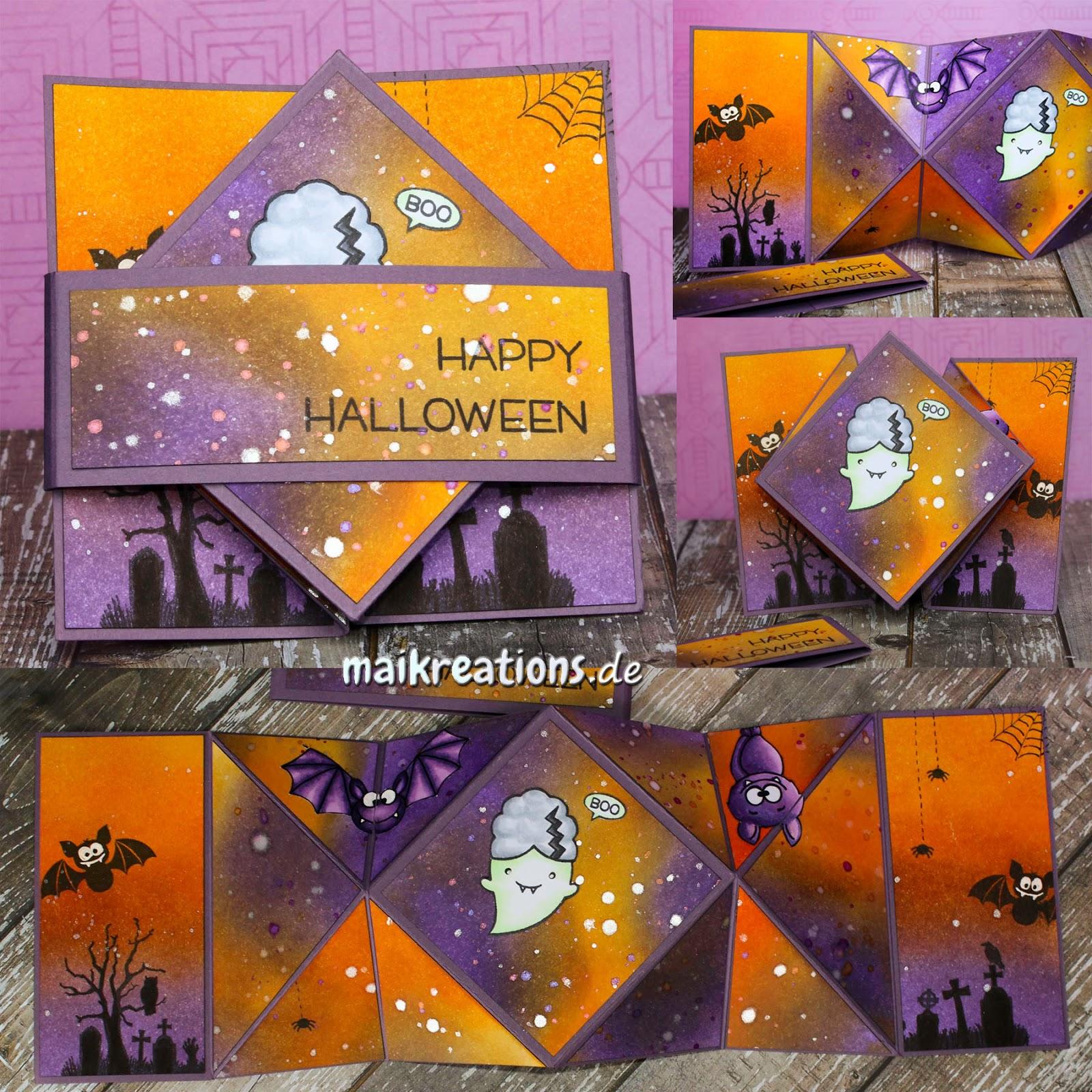 maikreations: Happy Insta Girls Halloween Hop