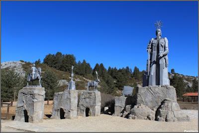 Monumento dedicado al Padre Tajo