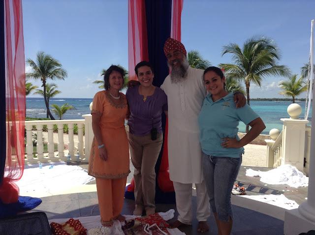 Latin Asia Barceló Riviera Maya Palace Sikh Wedding