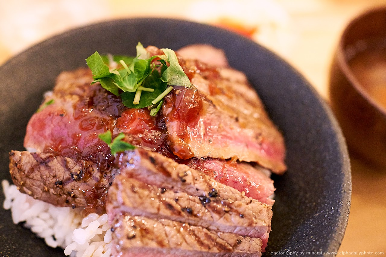Steak-donburi
