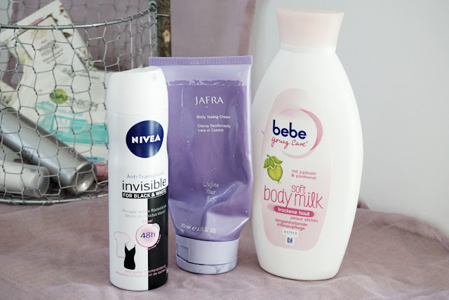 Aufgebraucht 2016 Part 2 Körperpflege Nivea Jafra bebe