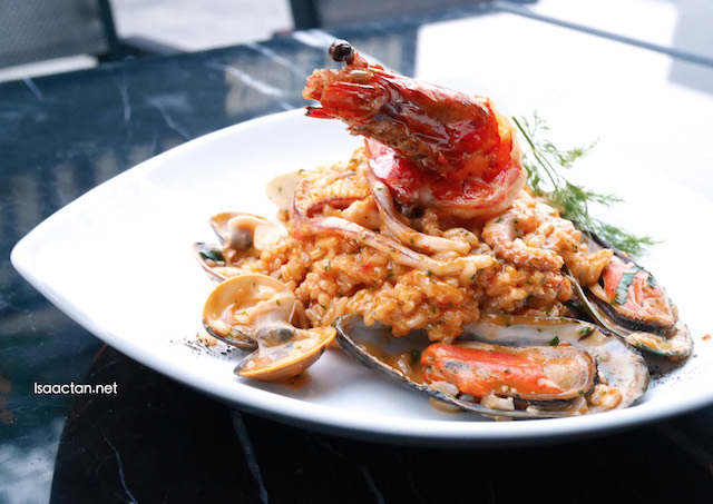 Seafood Risotto - RM46