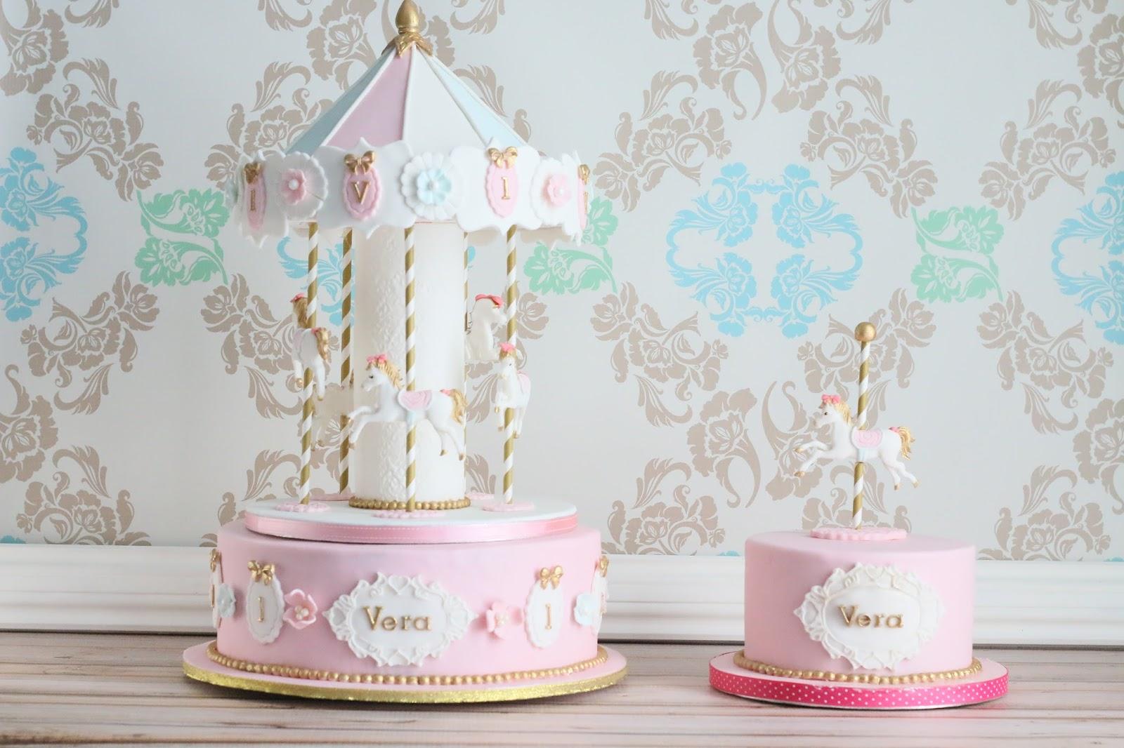 Bakingmummy Carousel Cake