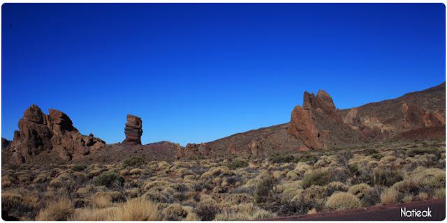 Parc national de Teide avec la roque Cinchano