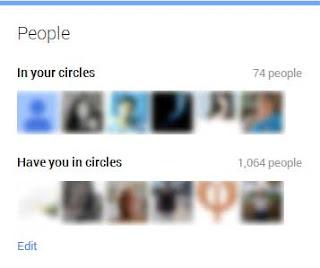 Cara Menyembunyinkan Circle di Google Plus teman / groups / followers