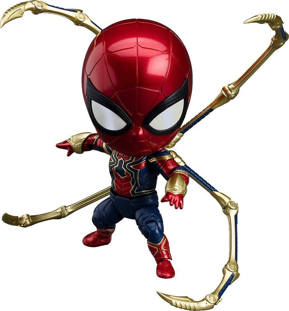 Movie Shopper's Guide - Iron Spider Nendoroid :「アベンジャーズ : インフィニティ・ウォー」のアイアン・スパイダーのねんどろいどのフィギュアが、新年2019年夏の7月31日に発売 ! !