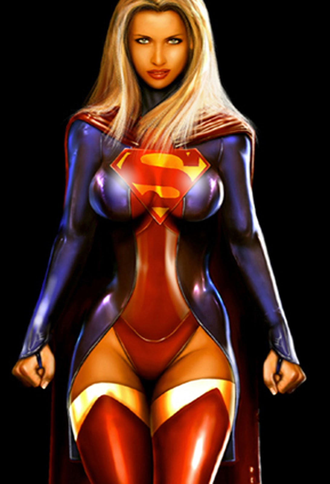 hot naked girl superheroes with big boobs