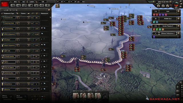 Hearts of Iron 4 Gameplay Screenshot 1