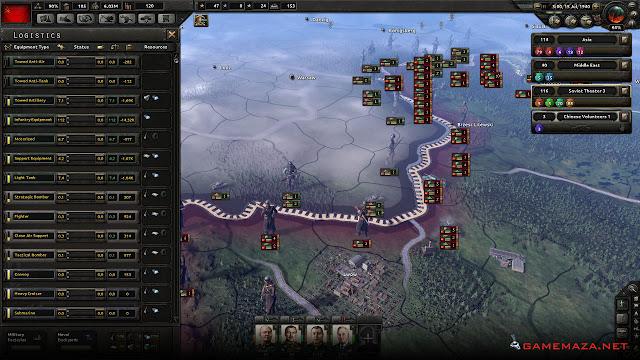 Hearts of Iron 4 Gameplay Screenshot 1