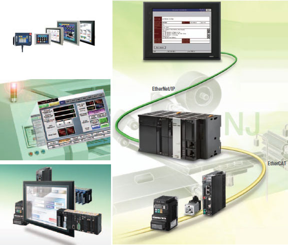 Omron Machine Automation Controllers NS-Series
