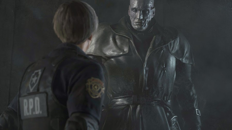 resident evil 2 remake leon x gon' give it to ya dmx mr. x