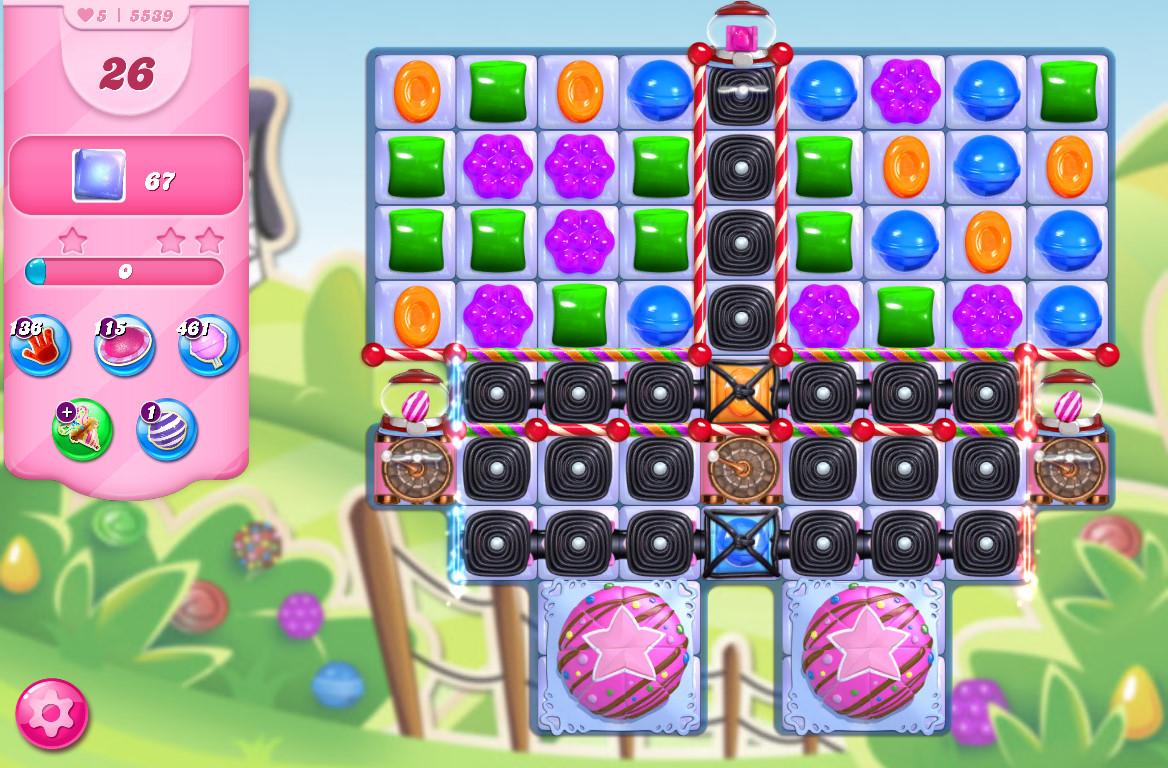 Candy Crush Saga level 5539