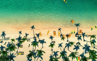 Pantai Pulau Tropis, Republik Dominika