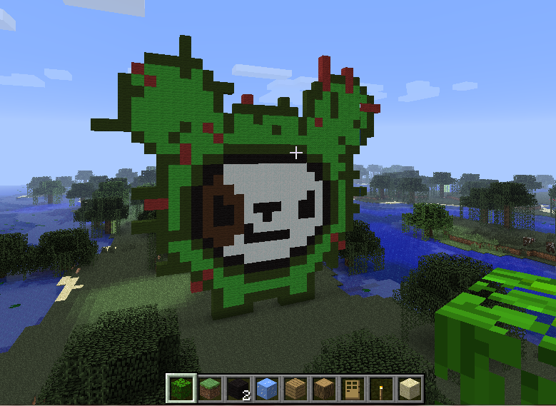 The Odd Girl Diaries: My Minecraft Creations!