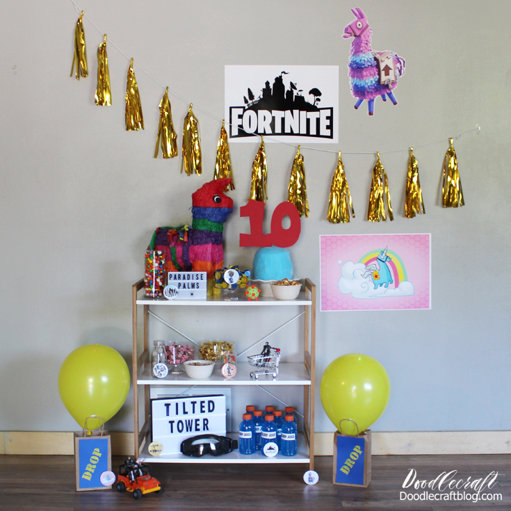 The Most Important Thing Is That My 10 Year Old Loved It Who Do You Know Would Love A Fortnite Party