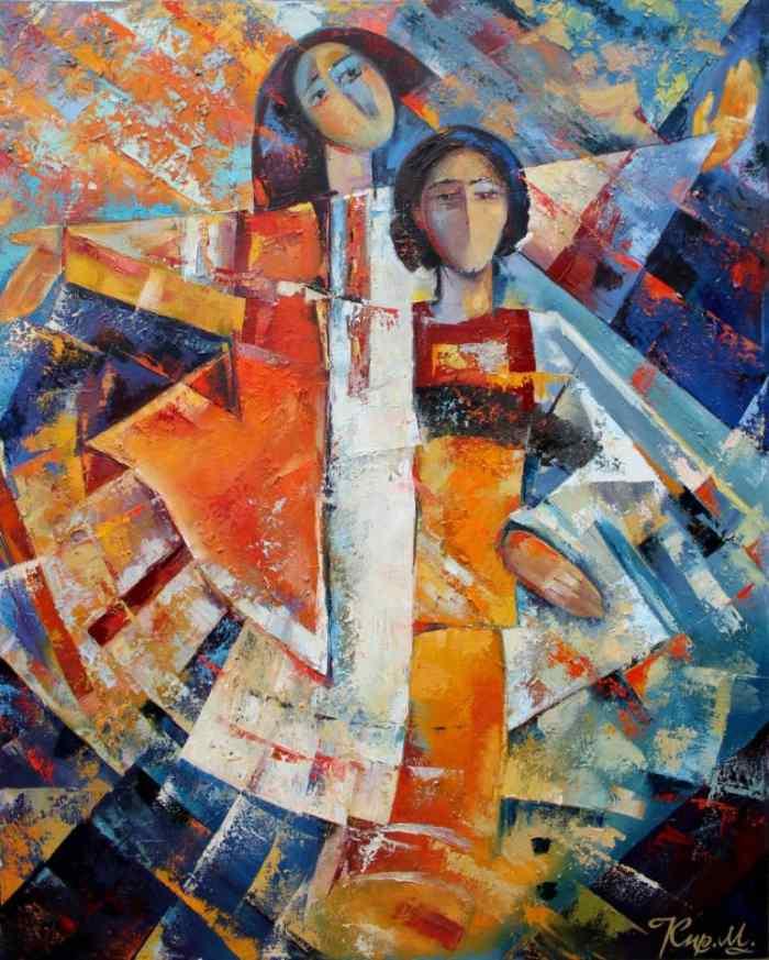 Украинский живописец-монументалист. Михаил Кириленко