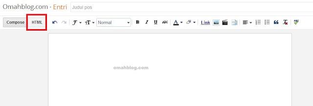 Membuat Kotak Script Sederhana Pada Posting Blogger
