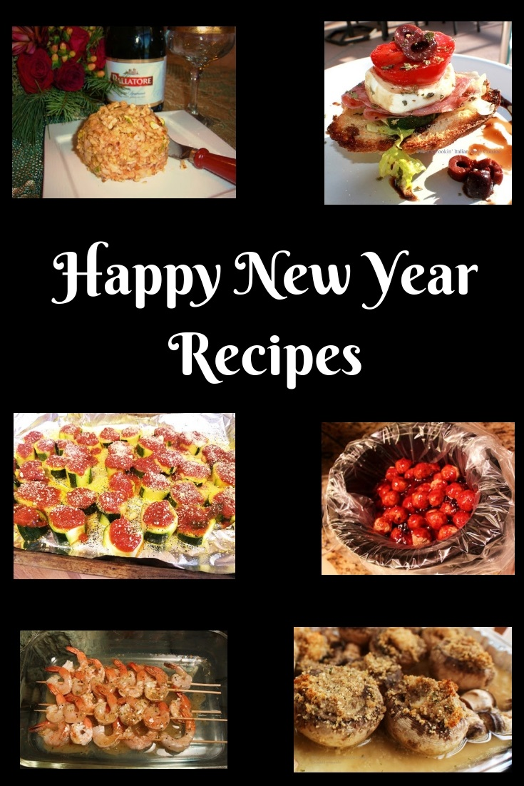 This is a round up of Appetizers for New Years Eve