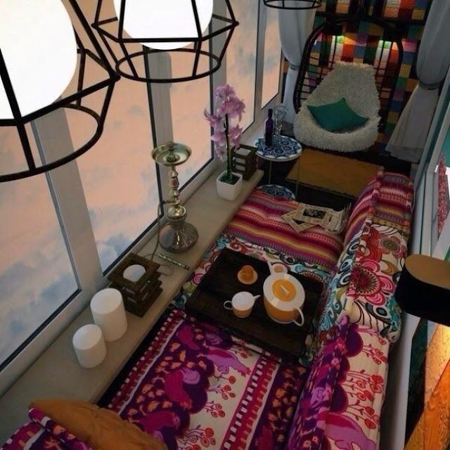 Уютный балкон. Коллекция фото-идей http://prazdnichnymir.ru/