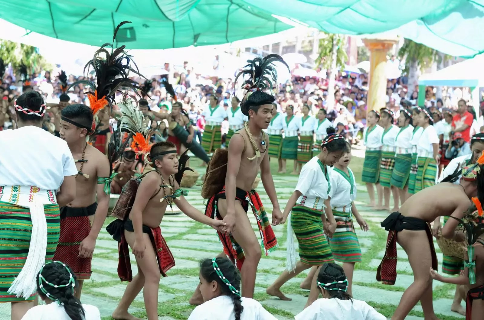Ethno-Indigenous Community Brothers and Sisters 13th Lang-Ay Festival Bontoc Mountain Province Cordillera Administrative Region Philippines