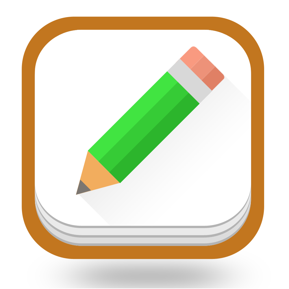 Notebook App Icon For iOS App And Android App