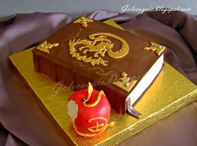 Disney Descendants Cake Designs