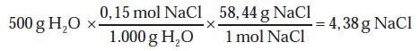 Perhitungan Molalitas