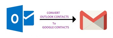 export Outlook contacts to Gmail