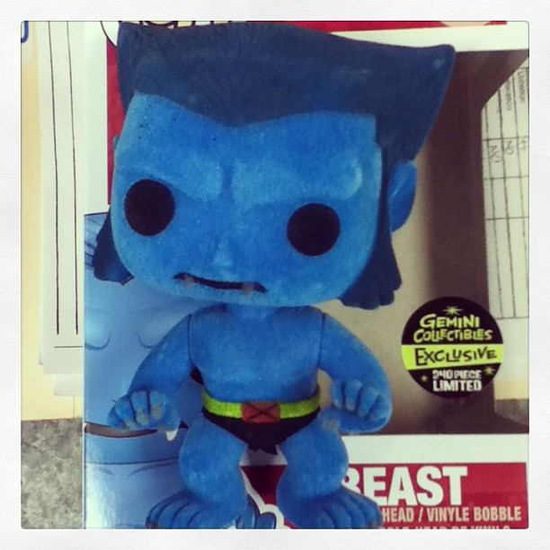 Funko Pop Flocked Beast Starts Shipping