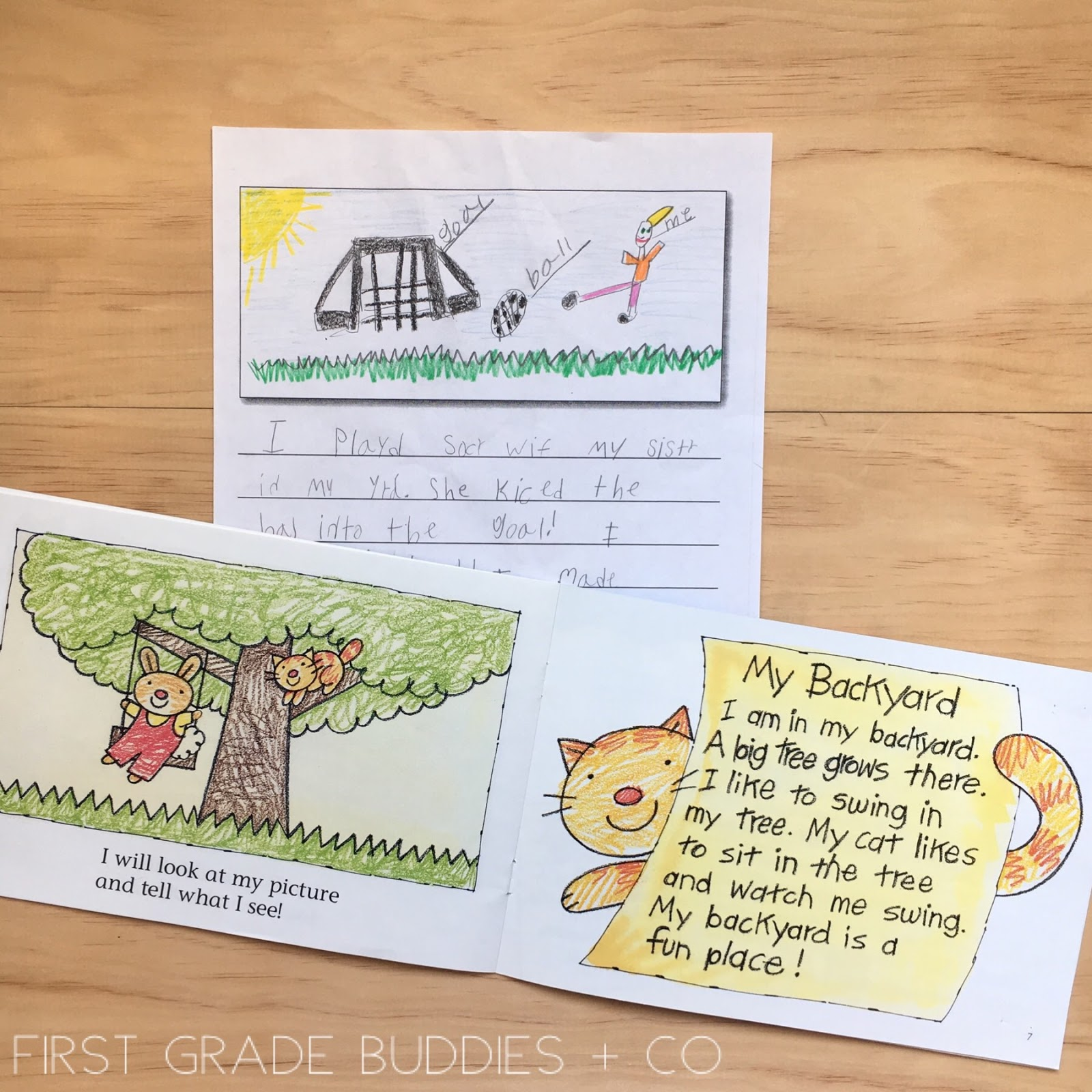Mini Lessons for Introducing Writer's Workshop | First Grade Buddies
