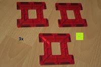 Zaun rot: Playbees 100 Teile Magnetische Bausteine Set für 2D und 3D Form Konstruktionen, Regenbogenfarben Magnetspielzeug, Baukasten Magnetspiel, Magnetbausteine