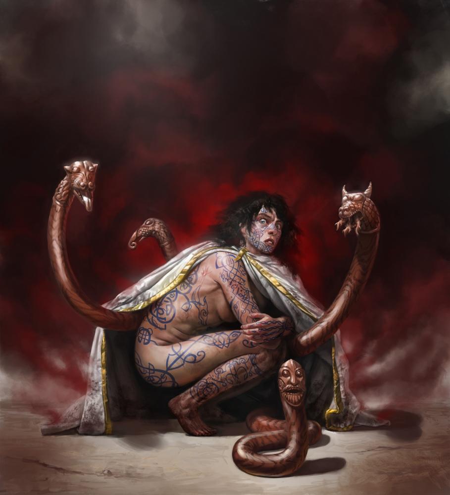 Realms of Chirak: D&D 5E: Tattoo Magic