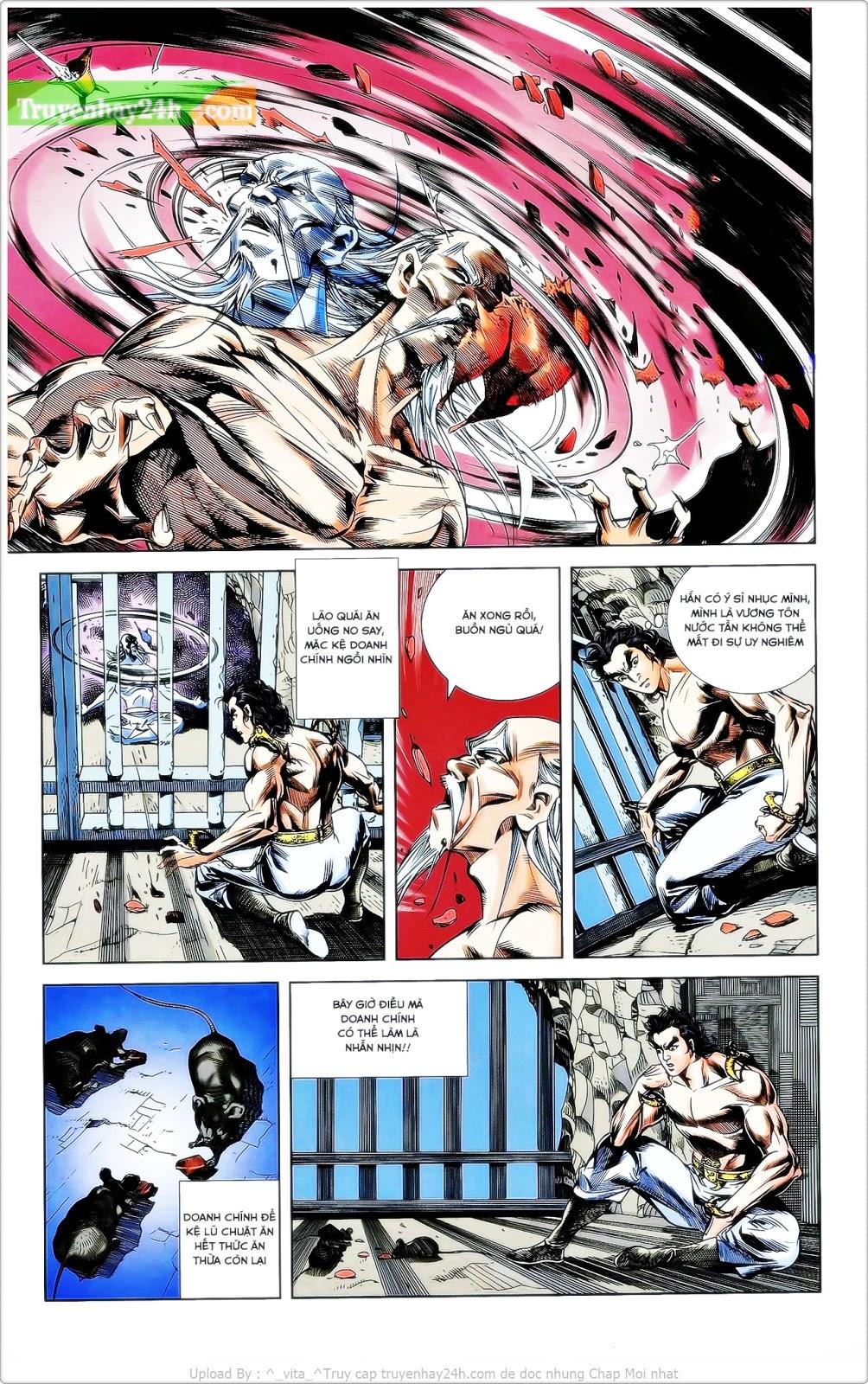 Tần Vương Doanh Chính chapter 24 trang 24