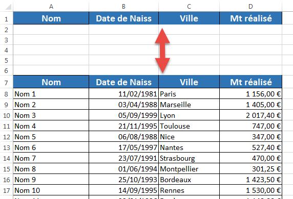 Comment Utiliser Des Filtres Elabores Ou Avances Dans Excel