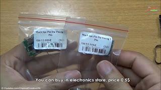 membuat power bank sendiri dari baterai laptop beka