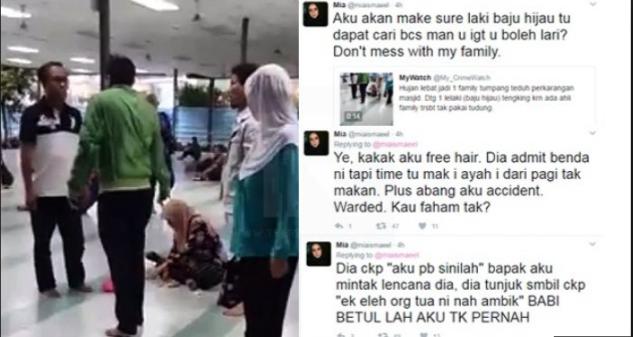 Keluarga Ini Di Usir Dengan Kasar Dari Masjid Saat Sedang Hujan Lebat