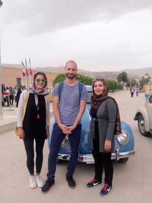 Showing you the beauty of Shiraz is enjoyable for them, and they would love to take you around town for free