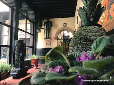 Piña de San José de Gracía en Hotel Mansión Iturbe en Pátzcuaro