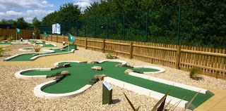 Peterborough Minigolf course at Dobbies Garden Centre