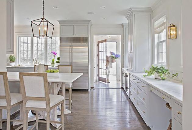 Kitchen Nook Lighting