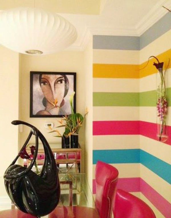 This Is 10 Creative wall painting ideas and techniques for all rooms ...