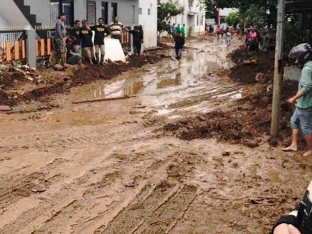 Cilengkrang Alami Banjir Bandang, DPU Kota Bandung Amankan Infrastruktur