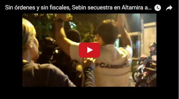 Régimen secuestra a asesores de la Unidad en Altamira