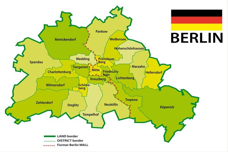 berlim mapa Onde Ficar em Berlim: Bairros e Regiões | Dicas de Berlim e Alemanha berlim mapa