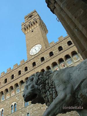 Palazzo Vecchio desde la Signoria