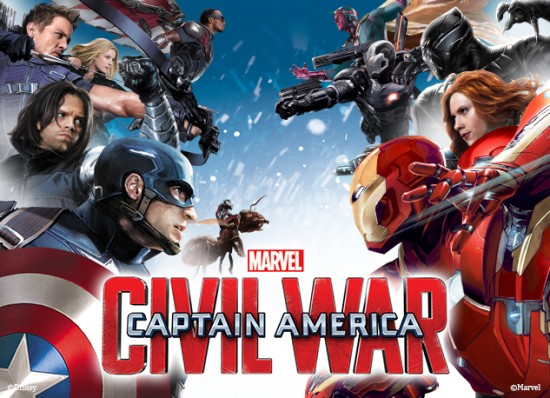 Película Civil War Marvel