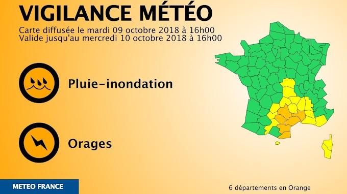 Mise à jour du bulletin de Météo France