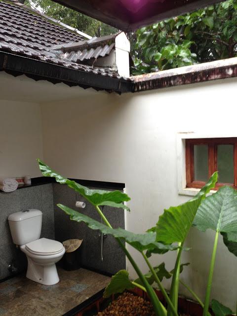 屋根の無いトイレでおケツを解放するもよし